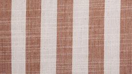 Tissu handloom aux bandes camel