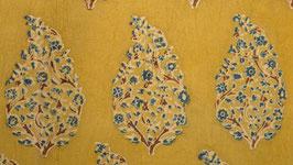 Arbuste fleuri jaune indigo