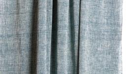 A. Coton khadi bleu gris