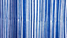 Rayures bleu azur