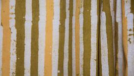 Batik linéaire dans divers ocre jaune