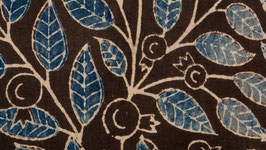 Arborescence feuillagée indigo