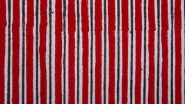 Rayures imprimées rouges