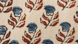 Petite fleur indigo à quatre feuilles