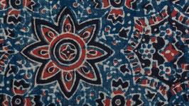 Constellation florale indigo