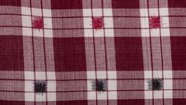 Ikat aux carrés rouges et noirs (2)