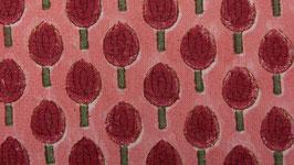 Ambiance florale vieux rose
