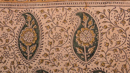 A. Pièce de tissu motif paisley