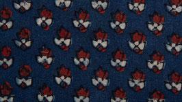 Fleurs lilliputiennes rouges et bleues (2)