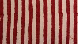 Zébrures rouges ou écrues
