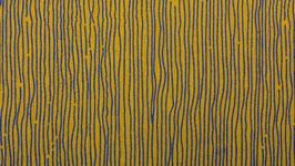 Rayures bleu-violet