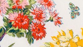A. Nappe aux bouquets printaniers