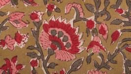 A. Œillets roses et rouges