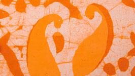 Batik jaune orangé (2)