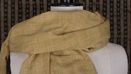 Étole en soie de l'Assam