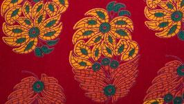 Panier floral jaune or et orangé