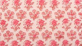 Prairie de fleurs roses