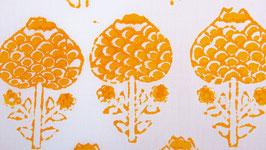 Sita flower jaune orangé