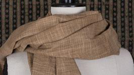 Étole en coton et soie cuivre