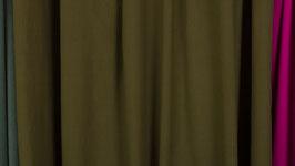 Tissu teinté de vert kaki