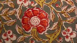 A. Couronne florale orangée