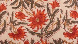 A. Chrysanthème aux pétales rouges