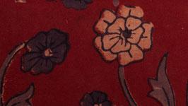 Arabesques florales bicolores