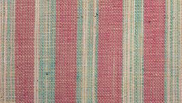 Tissu handloom aux bandes pastel (1)