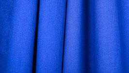 Tissu uni bleu roi