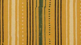 Ajrak aux rayures vertes et anthracite