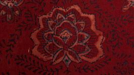 Roses auréolées de rosé