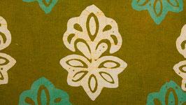 Batik vert moutarde (3)