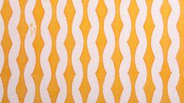 Rayures gondolées jaunes