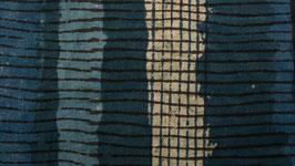 Rayures verticales gris-bleu