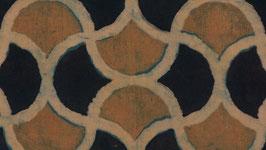 Géométrie ocre jaune