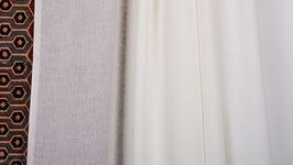 Tissu tissé blanc