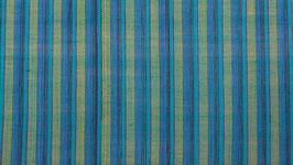 Tissu aux rayures vert turquoise