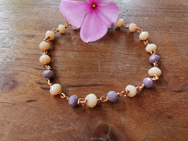 Armband lilac beach