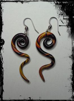 Ohrhänger Snake