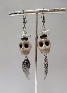 Halloween Ohrringe Skull