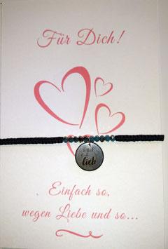 """Armband """"Ich hab dich lieb """""""