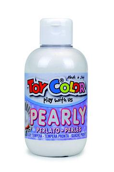 Tempera Pearly 250 ml weiß