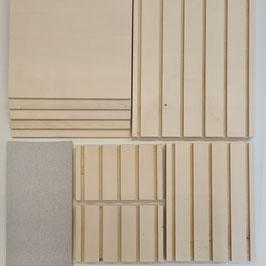 großes Vorrats-Set Holz