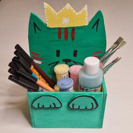 Set Holzbox MIAU von Fefi und Fusa