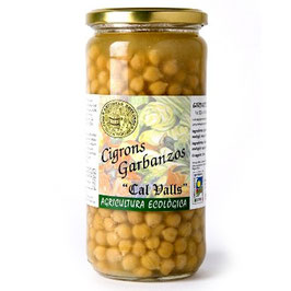 Pois chiches cuits 450g