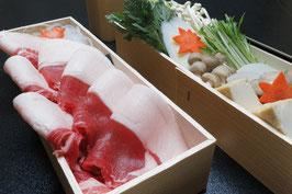 倉吉市で愛されて40年 松風荘旅館名物ぼたん鍋(味噌だし付き・一人前)