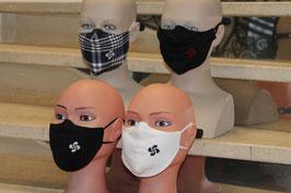 Masque hygiéniques avec lauburu brodé - BESTA