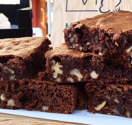 Lot de 8 Brownies Speciaux - LO VI Kafetegia