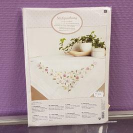 Kit nappe fleurs - Le Dé en Argent