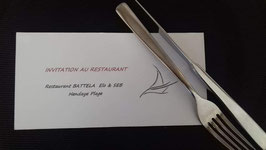 INVITATION AU RESTAURANT - Restaurant Battela